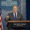 Sean Spicer gives his White House daily press briefing