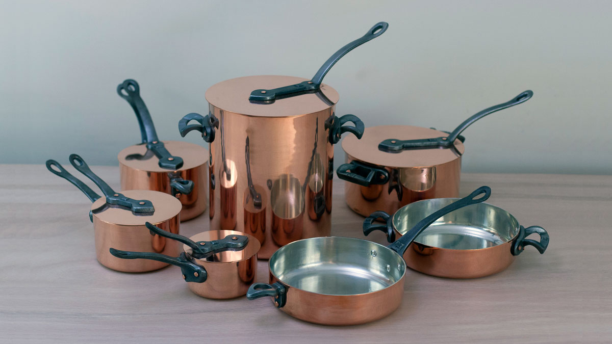 Brooklyn Copper Cookware family photo