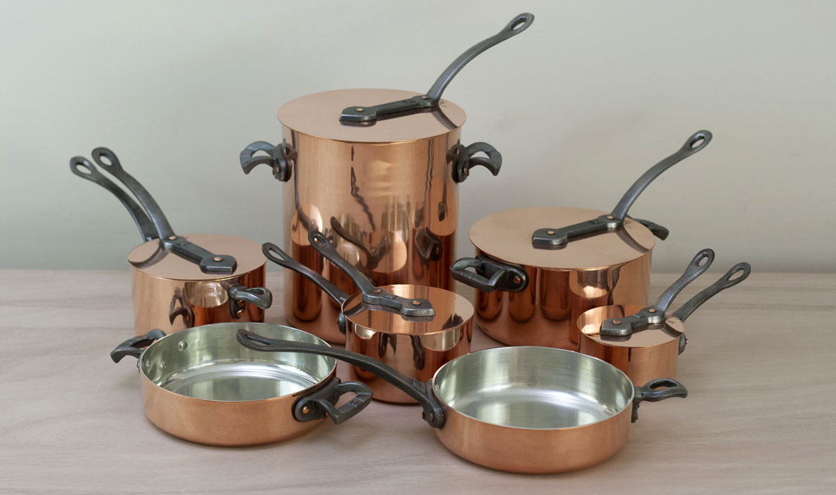The Brooklyn Copper Cookware Batterie de Cuisine