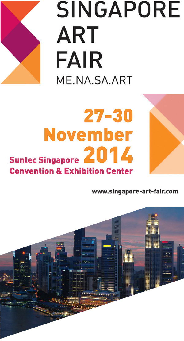 Singapore Art Fair 2014, Suntec Singapore, 27 - 30 November