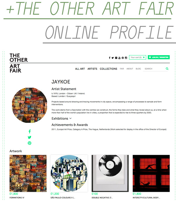 The Other Art Fair - Online Profile