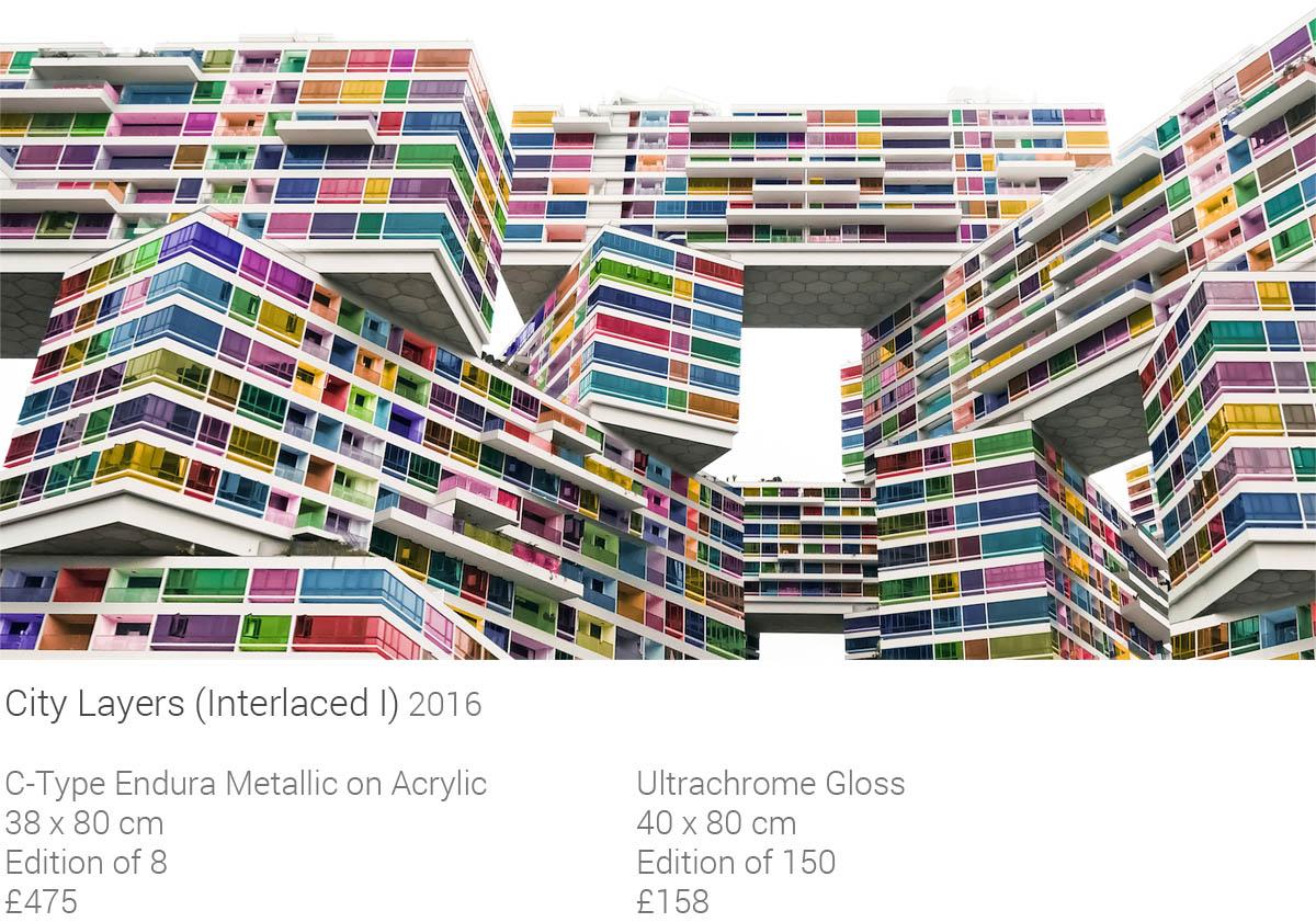 City Layers (Interlaced I)