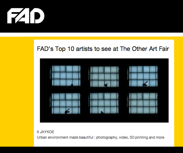 FAD's Top 10 artists at The Other Art Fair
