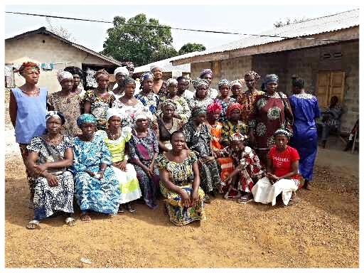 The women of Blama Massaquoi