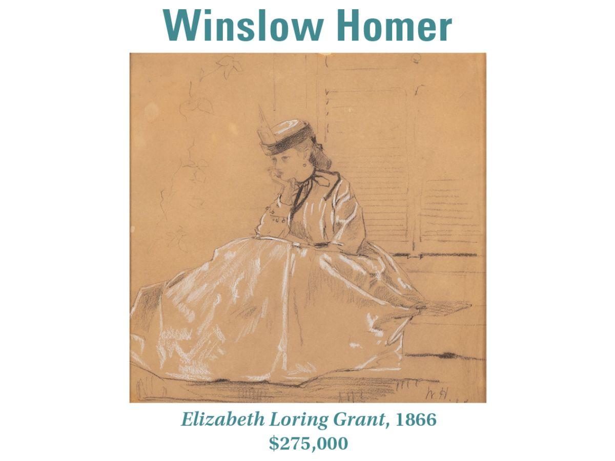Winslow Homer, Elizabeth Loring Grant, 1866