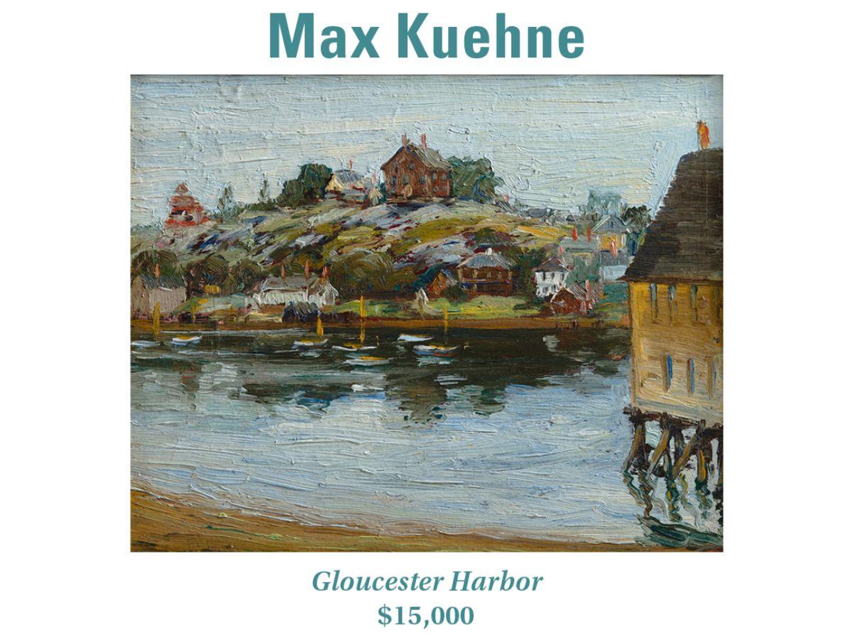 Max Kuehne, Gloucester Harbor