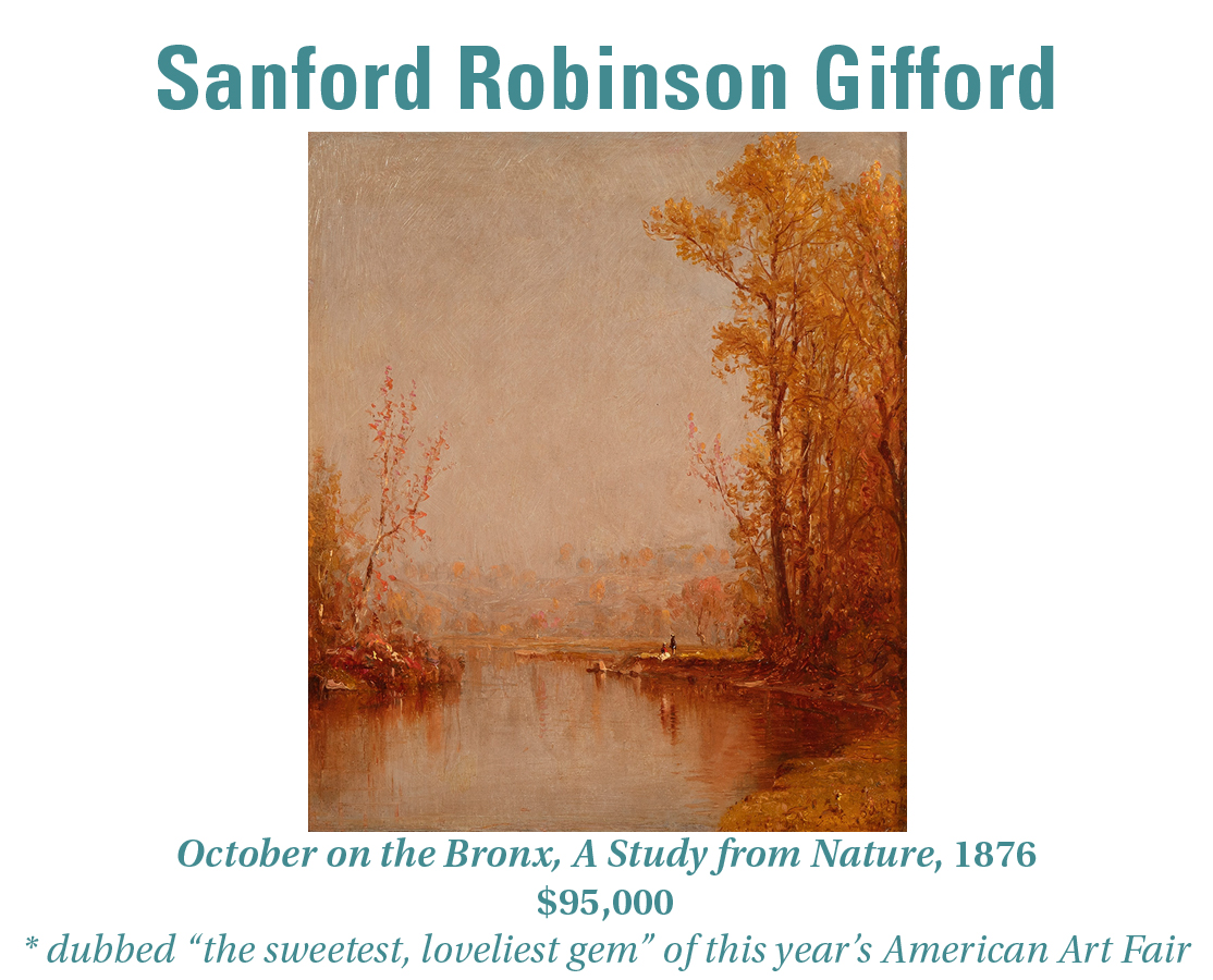 Sanford Robinson Gifford, October on the Bronx River, A Study from Nature, 1876