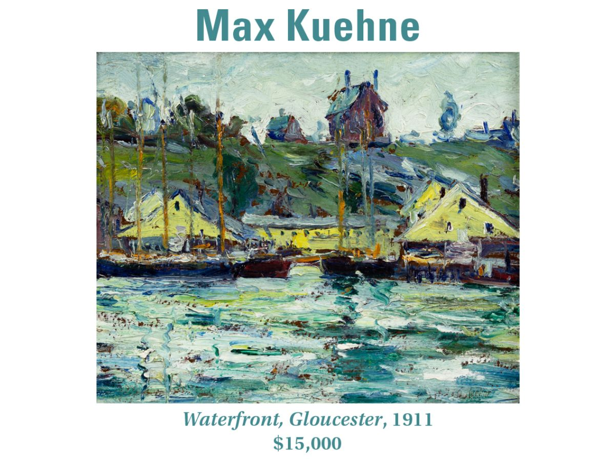 Max Kuehne, Waterfront, Gloucester, 1911