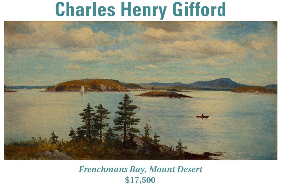 Charles Henry Gifford, Frenchmans Bay, Mount Desert