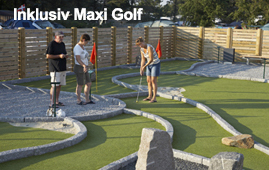 Sommerferie inkl. Maxi Golf