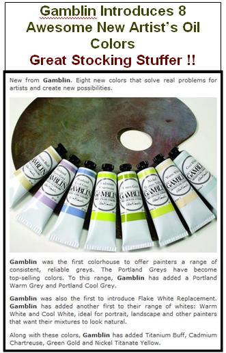 Gamblin Introduces 8 New Colors