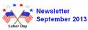 August Newsletter 2013