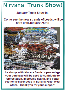 Nirvana Trunk show until January 25th!