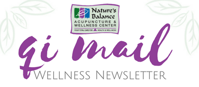 Qi Mail Wellness Newsletter From Nature's Balance