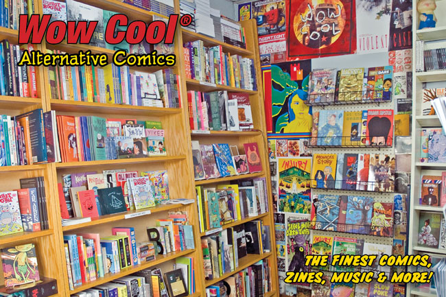 The Wow Cool | Alternative Comics  Bookstore & Newsstand is now open