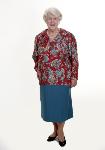 Wrap-around Pleated Skirt
