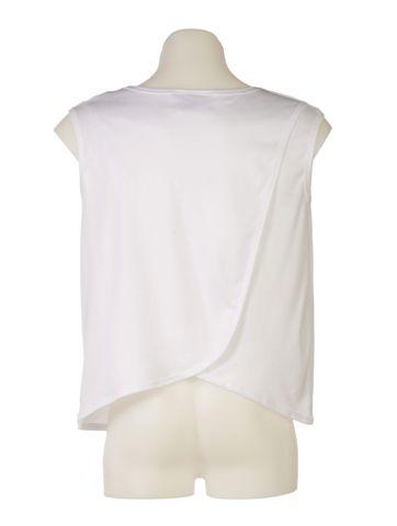 Unisex Petal Back Open Back Vest