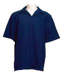 Petal Back Men's Polo Short Sleeve Shirt
