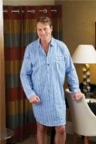 Men's Long Sleeve Nightshirt