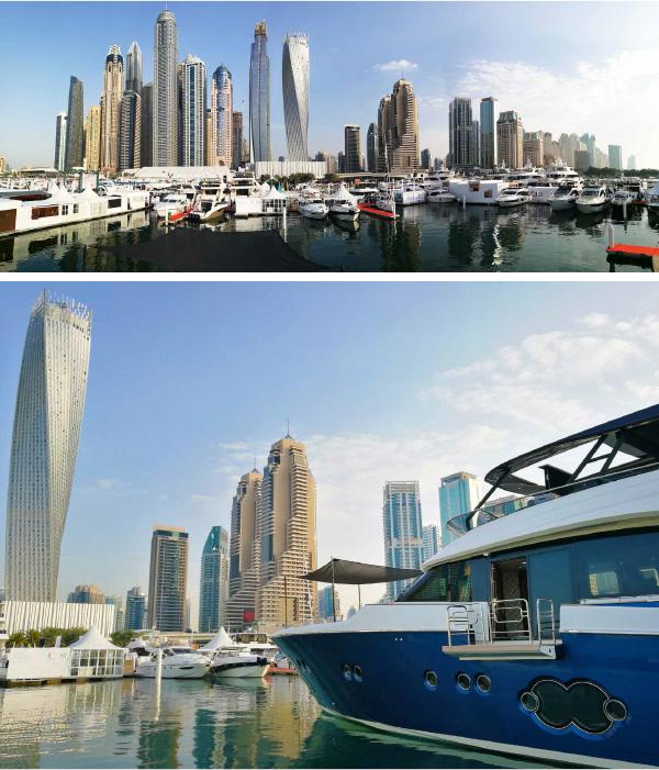 MCY 86 at Dubai International Boat Show