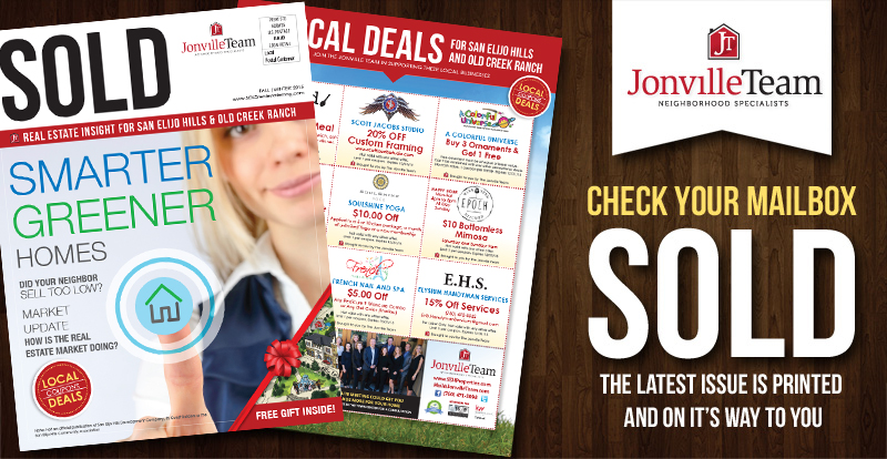 Check Your Mailbox for the latest issue of SOLD
