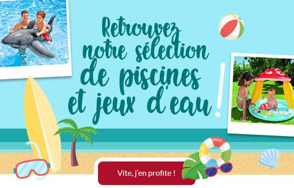 Jeux de piscine et de plage