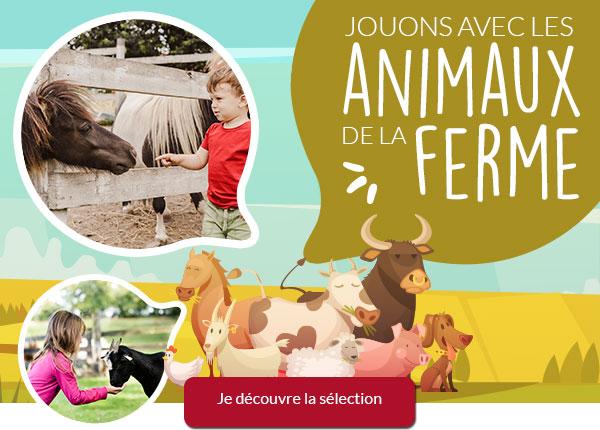 Jouons avec les animaux de la ferme !
