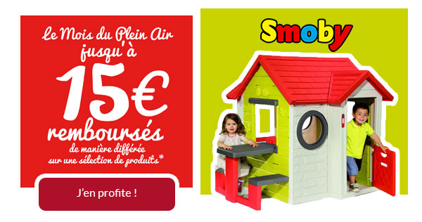Offre plein air Smoby