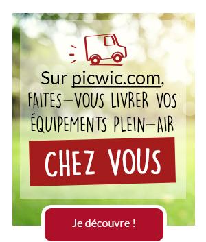 Sur picwic.com, faites-vous livrer vos équipements plein-air chez vous !