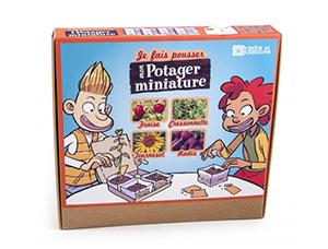 Coffret potager miniature