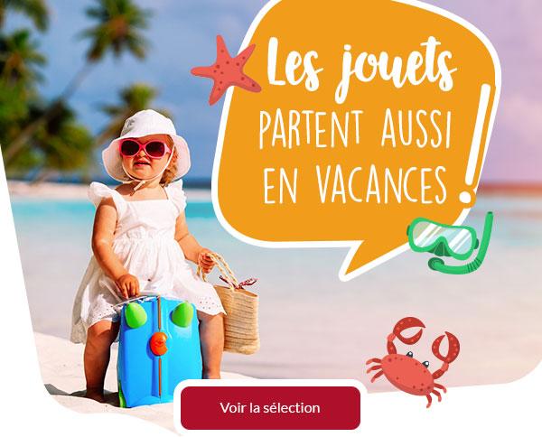 Les jouets partent aussi en vacances !