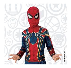 Déguisement Iron Spider (existe dans plusieurs tailles)