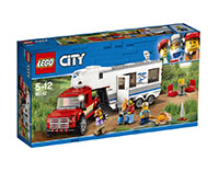 Le pick-up et sa caravane LEGO® City
