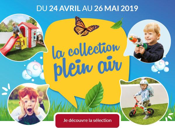 Du 24 avril au 26 mai 2019, découvre la collection plein air !