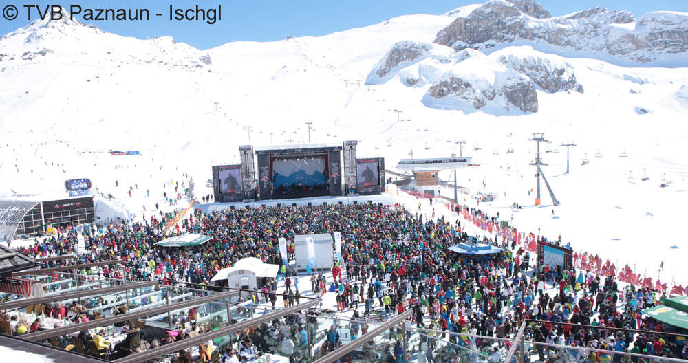 Top of the Mountain Easter Concert in Ischgl