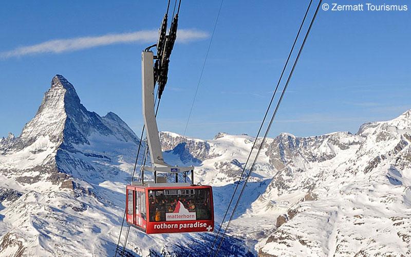 Matterhorn mit Rothorn-Bahn