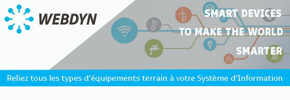 Reliez tous les types d'équipements terrain à votre Système d'Information avec les Solutions Webdyn