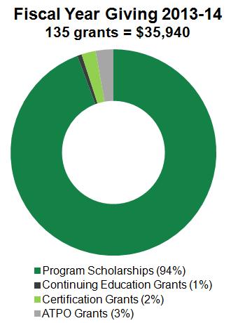 Foundation Grants chart