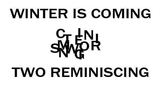 Winter Anagram
