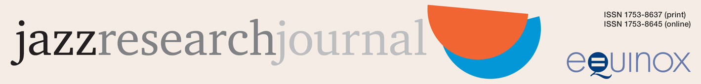 Jazz Research Journal