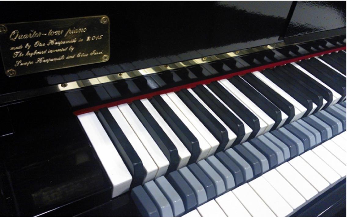 Quarter tone piano