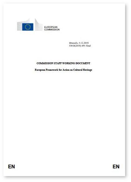 European framework for action on cultural heritage