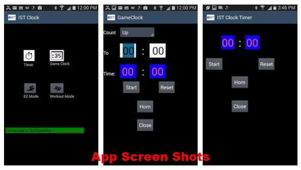 App Screen Shots