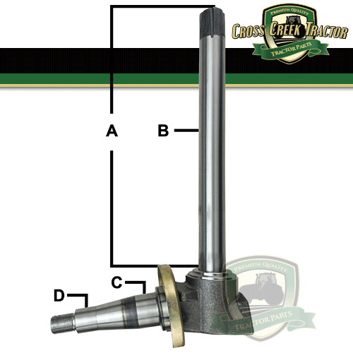 Case-IH Axle Bolt