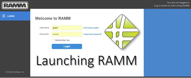 Watch the Launching RAMM video