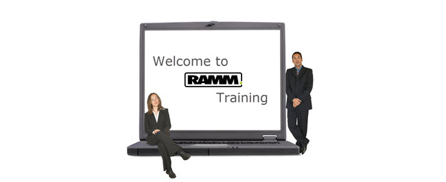 Welcome to RAMM Training