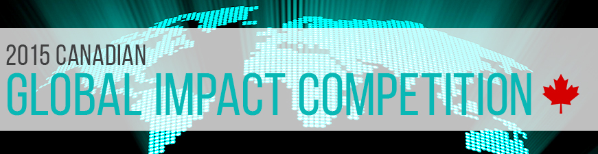 2015 Canadian Global Impact Competition