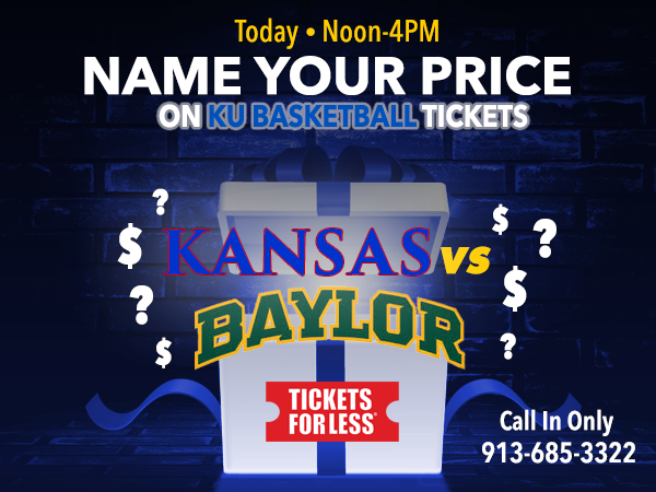 View Tickets to Saturday's KU Home Game vs Baylor