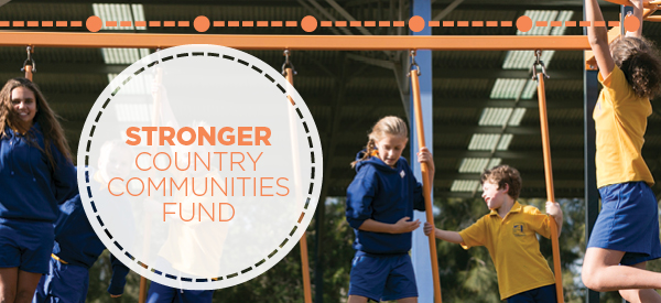 Stronger Country Communities Fund email header image
