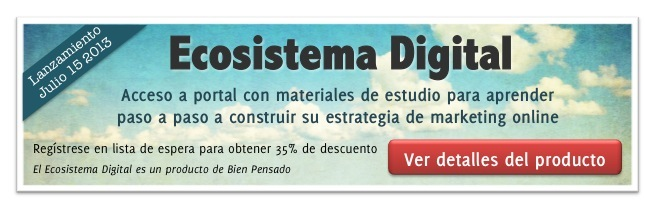 Ecosistema Digital - programa de marketing online